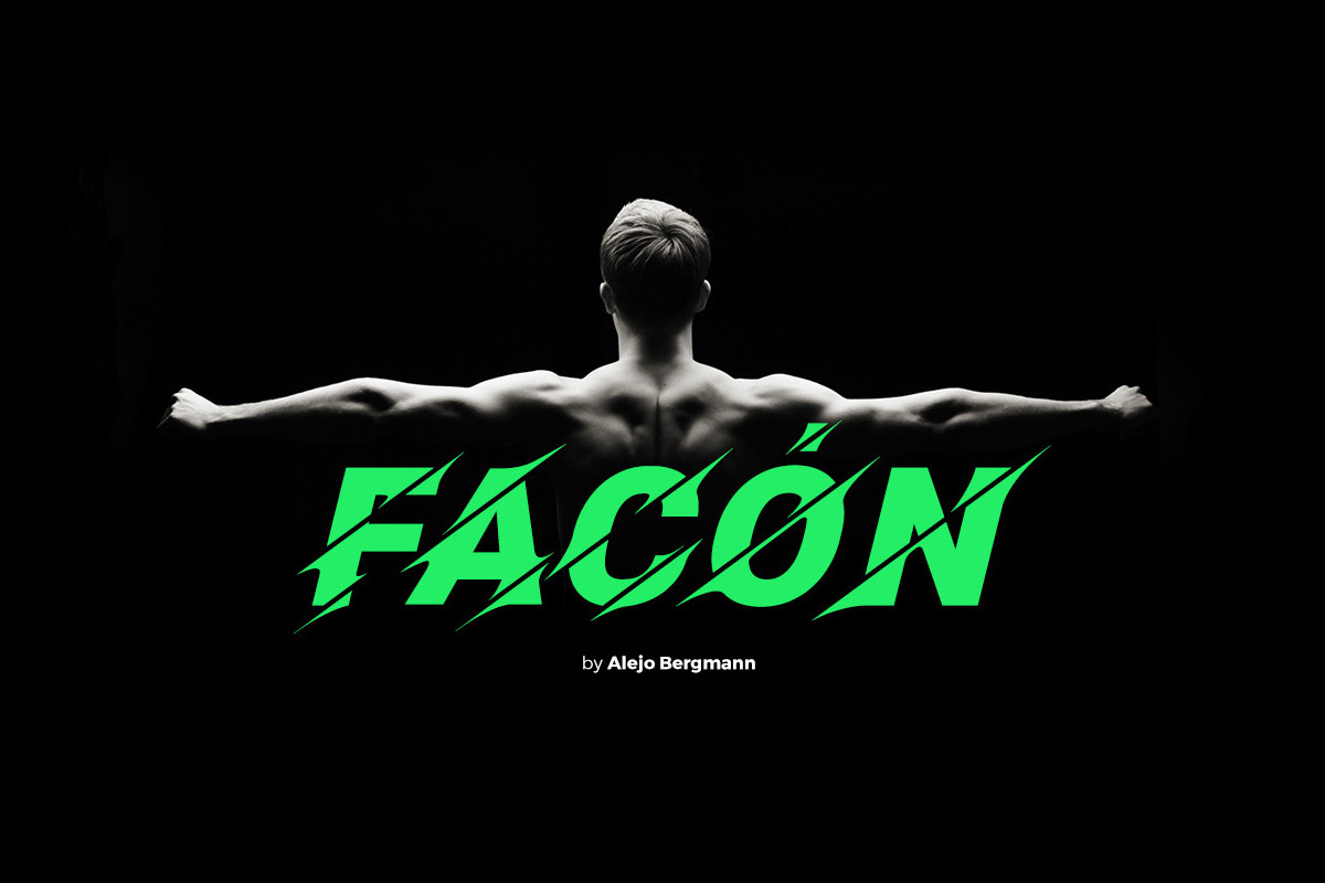 Free Facon Display Font
