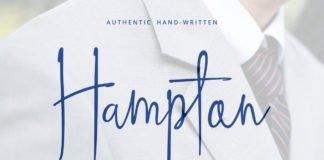 Free Hampton Signature Font
