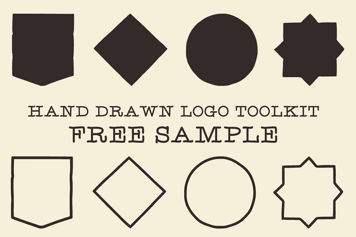 Free Hand Drawn Logo Toolkit