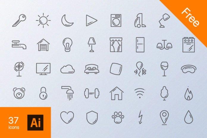 Free Home Routine Icon Set