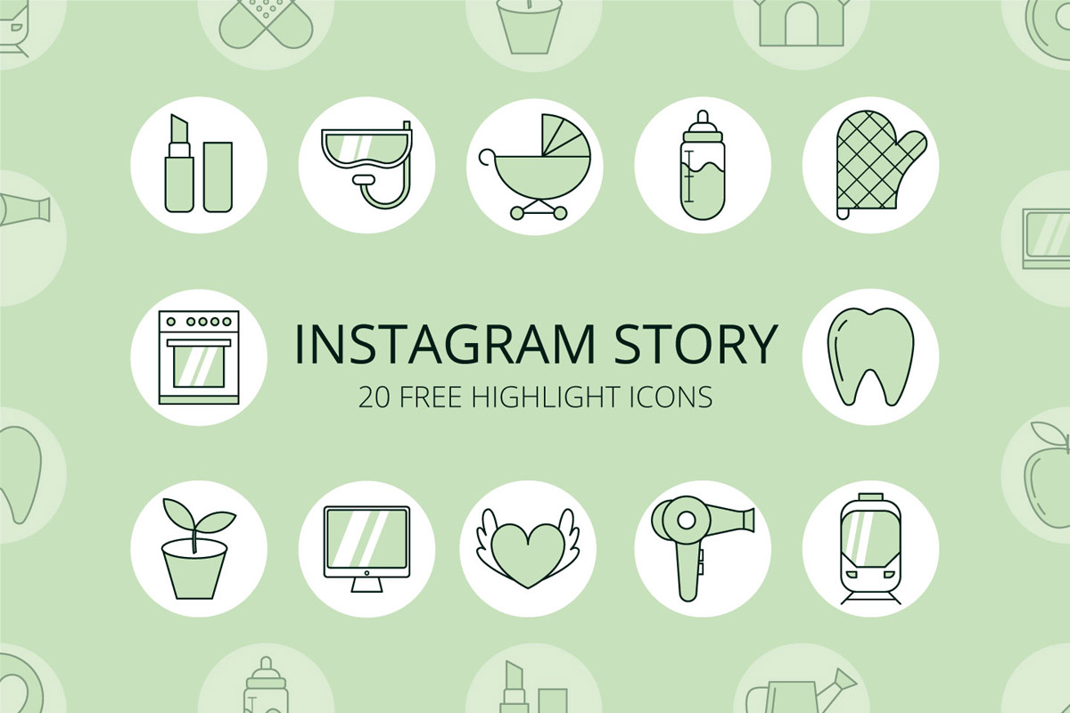 Free Instagram Story Highlight Icons - Creativetacos