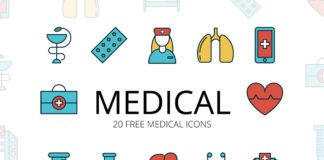 Free Medical Vector Icon Set