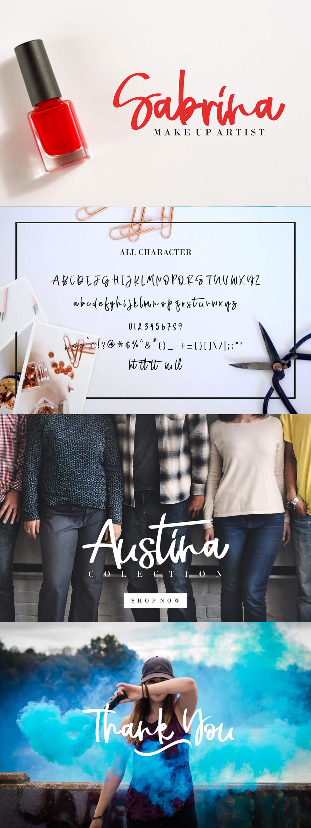Free Naycila Script Font