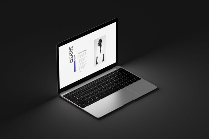Free Realistic Macbook Mockup