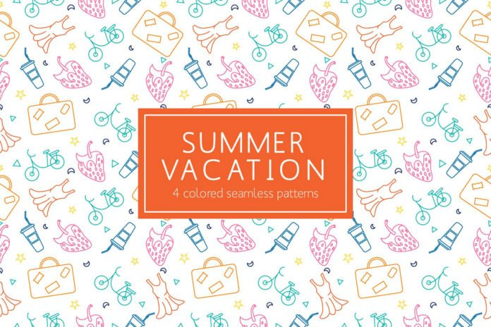 Free Summer Vacation Pattern