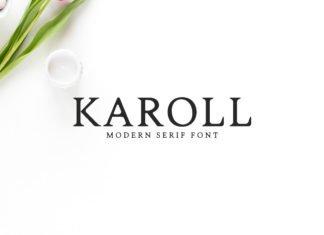 Free Karoll Serif Font