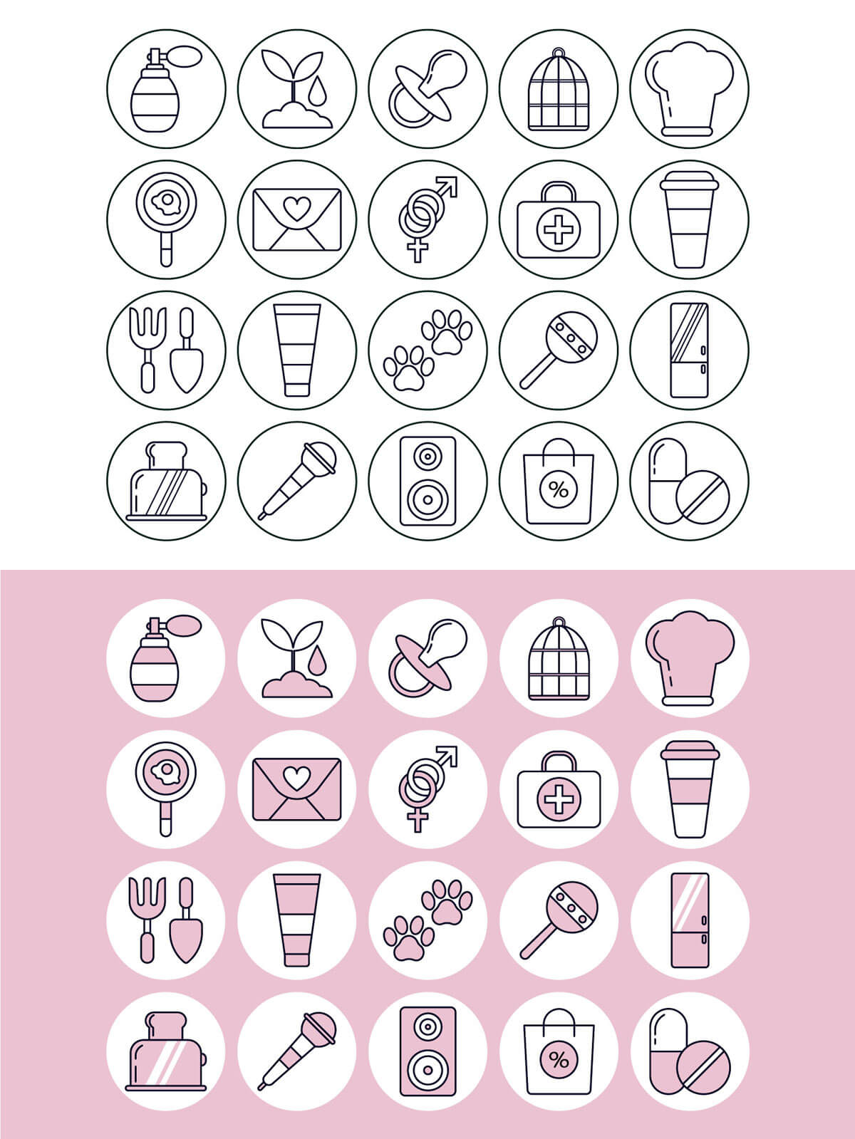 20 Free Instagram Stories Icons