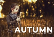 Free Autumn Photoshop Actions
