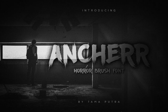 Free Ancherr Brush Font