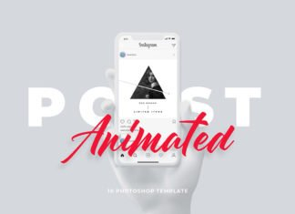 Free Animated Instagram Template