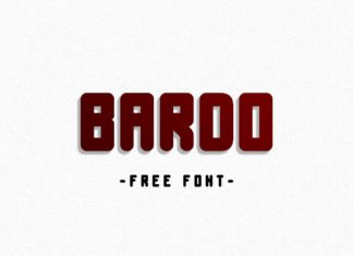 Free Bardo Display Font