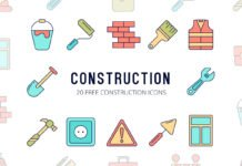 Free Construction Vector Icon Set