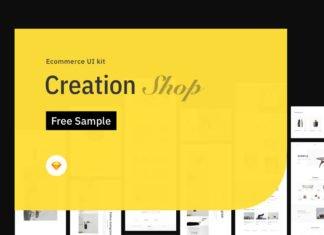 Free Creation Shop UI Kit