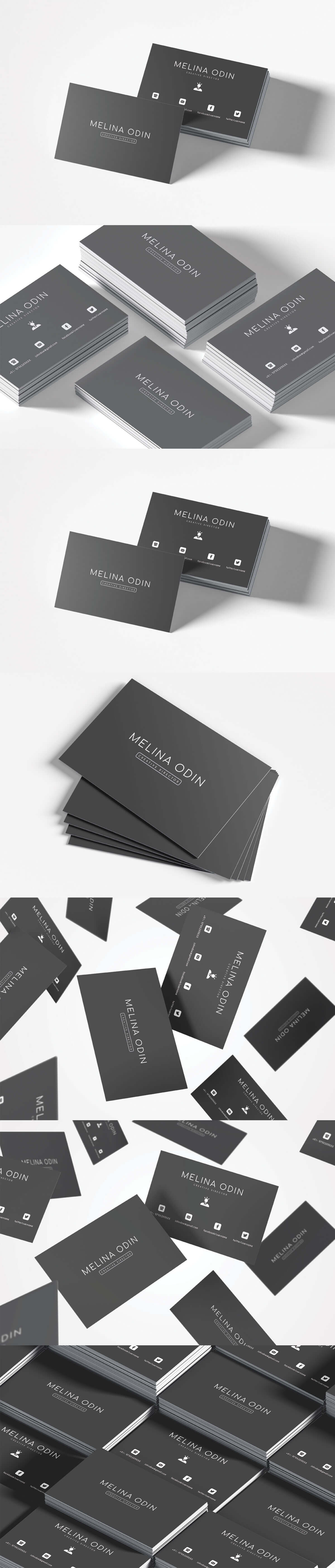 Free Creative Design Business Card Template