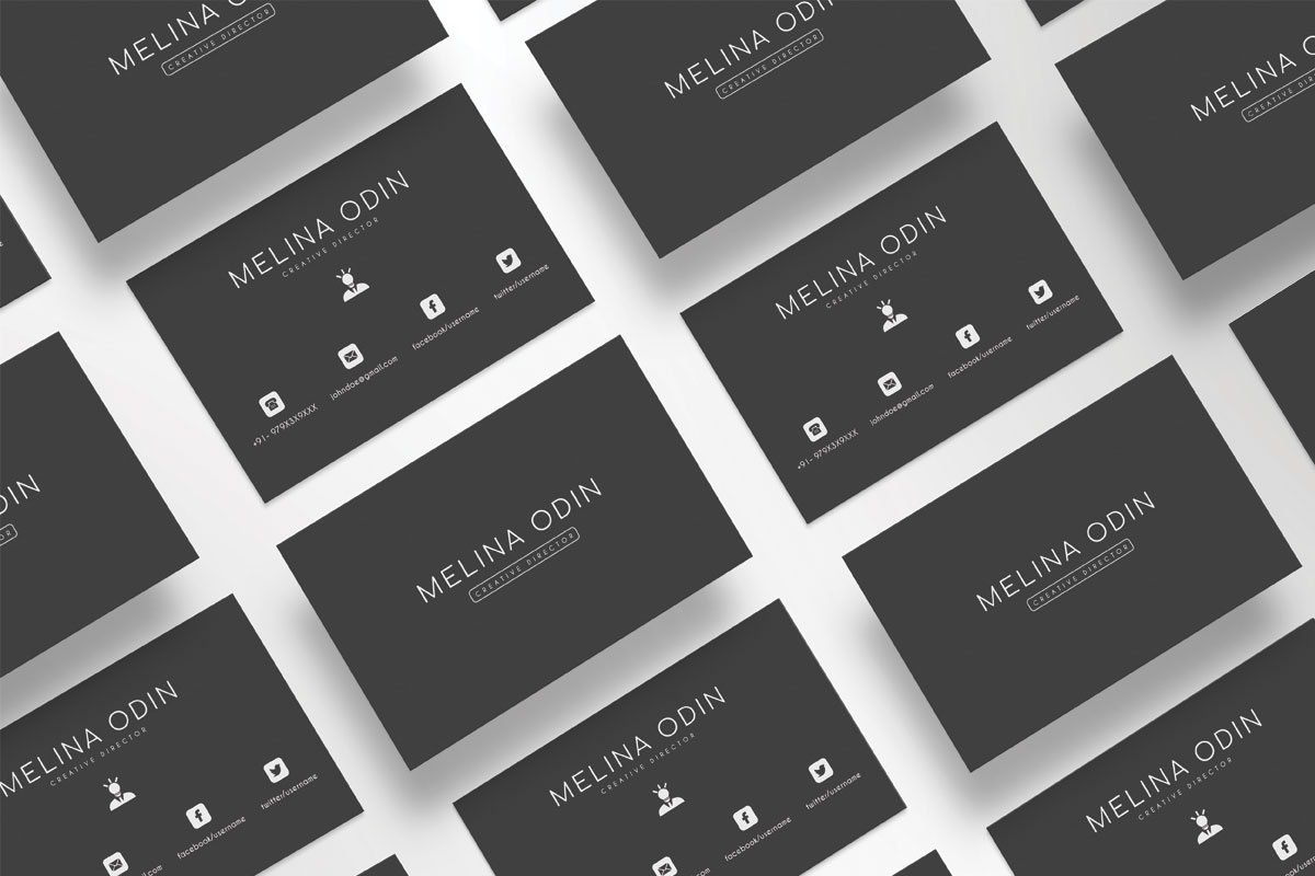 Free creative design business card template creativetacos free creative design business card template flashek Gallery