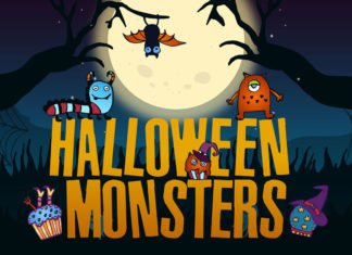 Free Halloween Monsters Vector Illustration