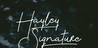 Free Hayley Signature Font