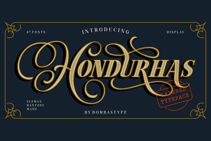 Free Hondurhas Vintage Script Font