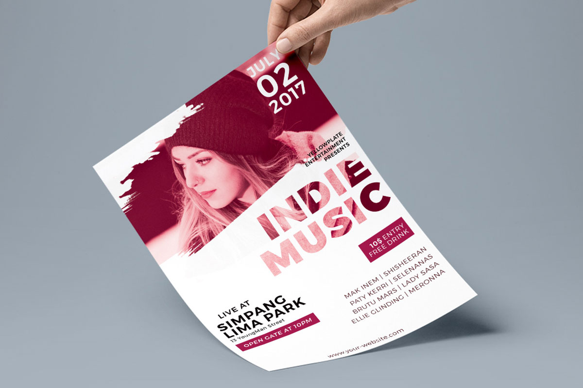 Free Music Flyer Psd Template Creativetacos