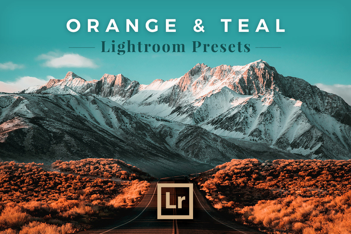 Free Orange and Teal Lightroom Presets - Creativetacos