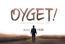 Free Oyget Brush Font