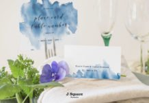 Free Place Card Mockup