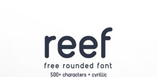 Free Reef Rounded Sans Serif Font