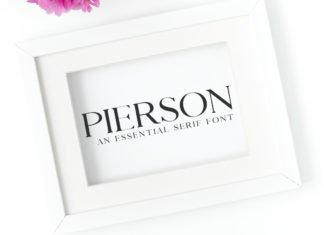 Free Pierson Serif Font