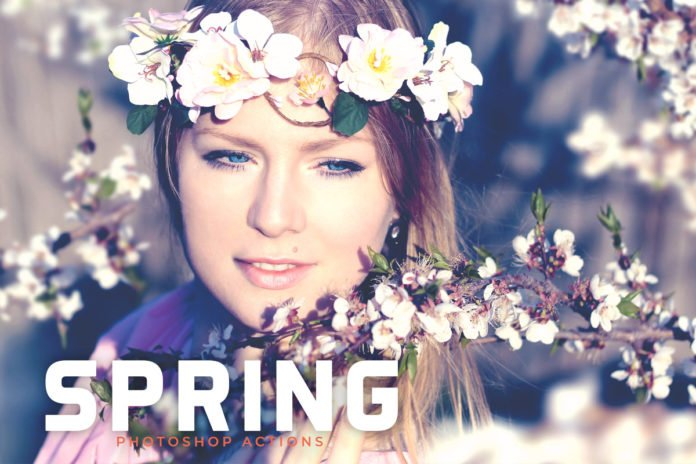 Free Spring Photoshop Actions