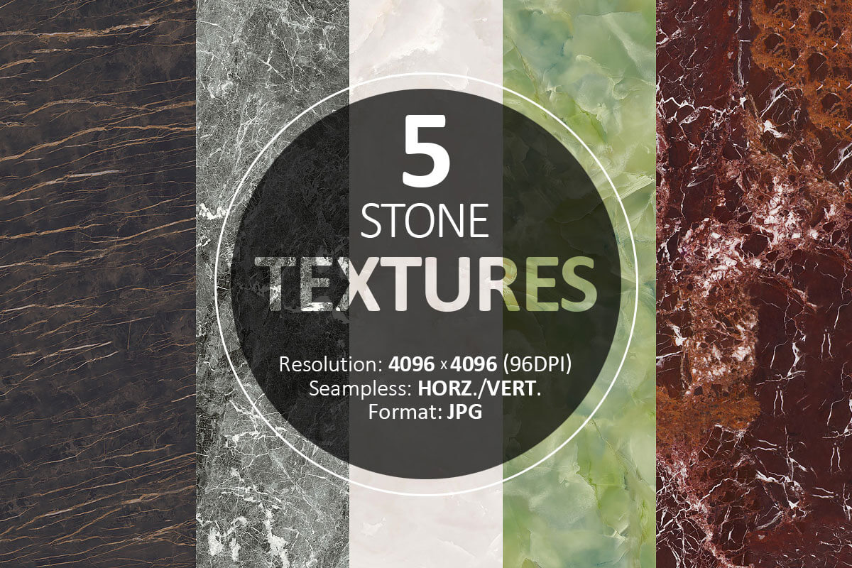 5 Free Stone Textures