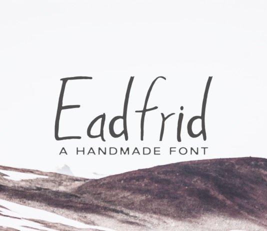 Free Eadrifd Handmade Font
