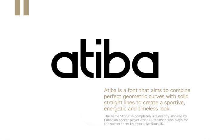 Free Atiba Sans Serif Font
