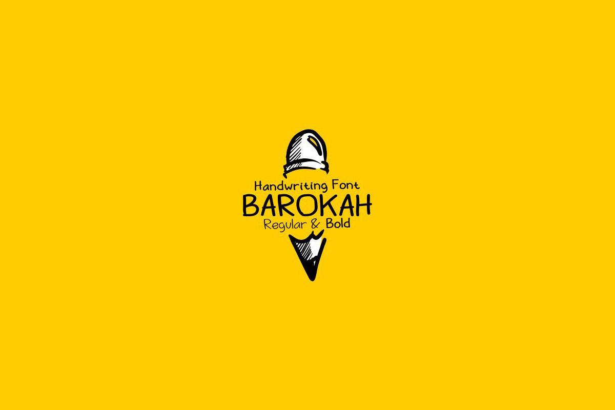 Free Barokah Handwriting Font Family