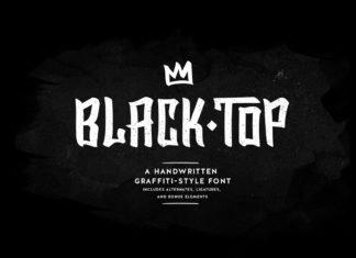 Free BlackTop Handwriting Font