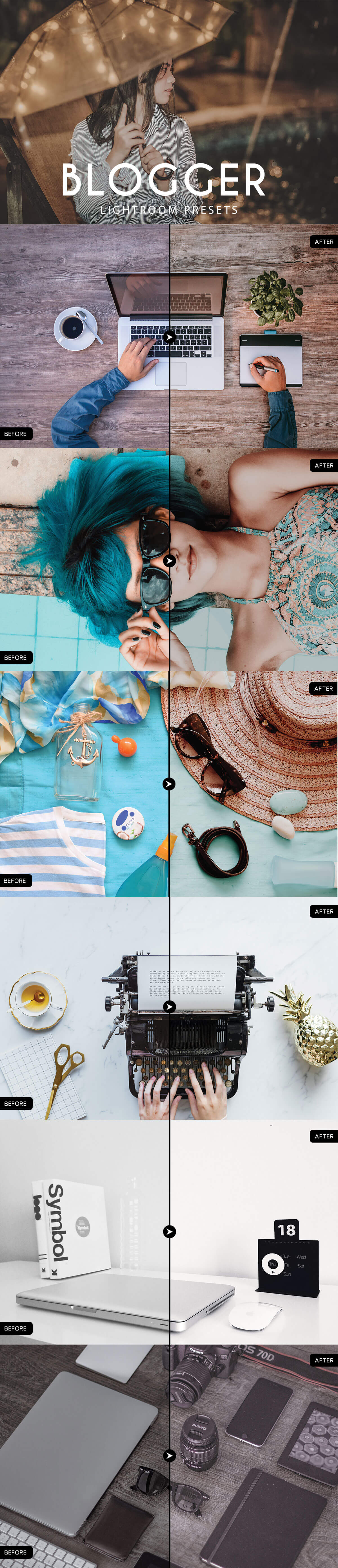 Free Blogger Lightroom Presets - Creativetacos
