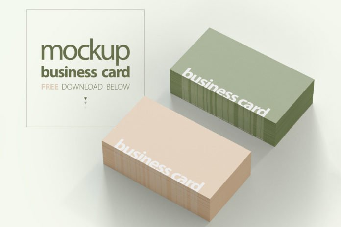 Free Business Card Mockup Pack