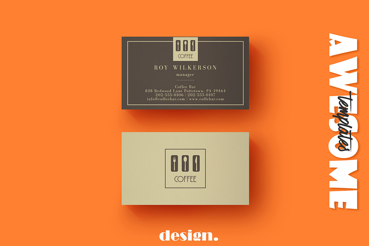 Free coffee business card template creativetacos free coffee business card template wajeb