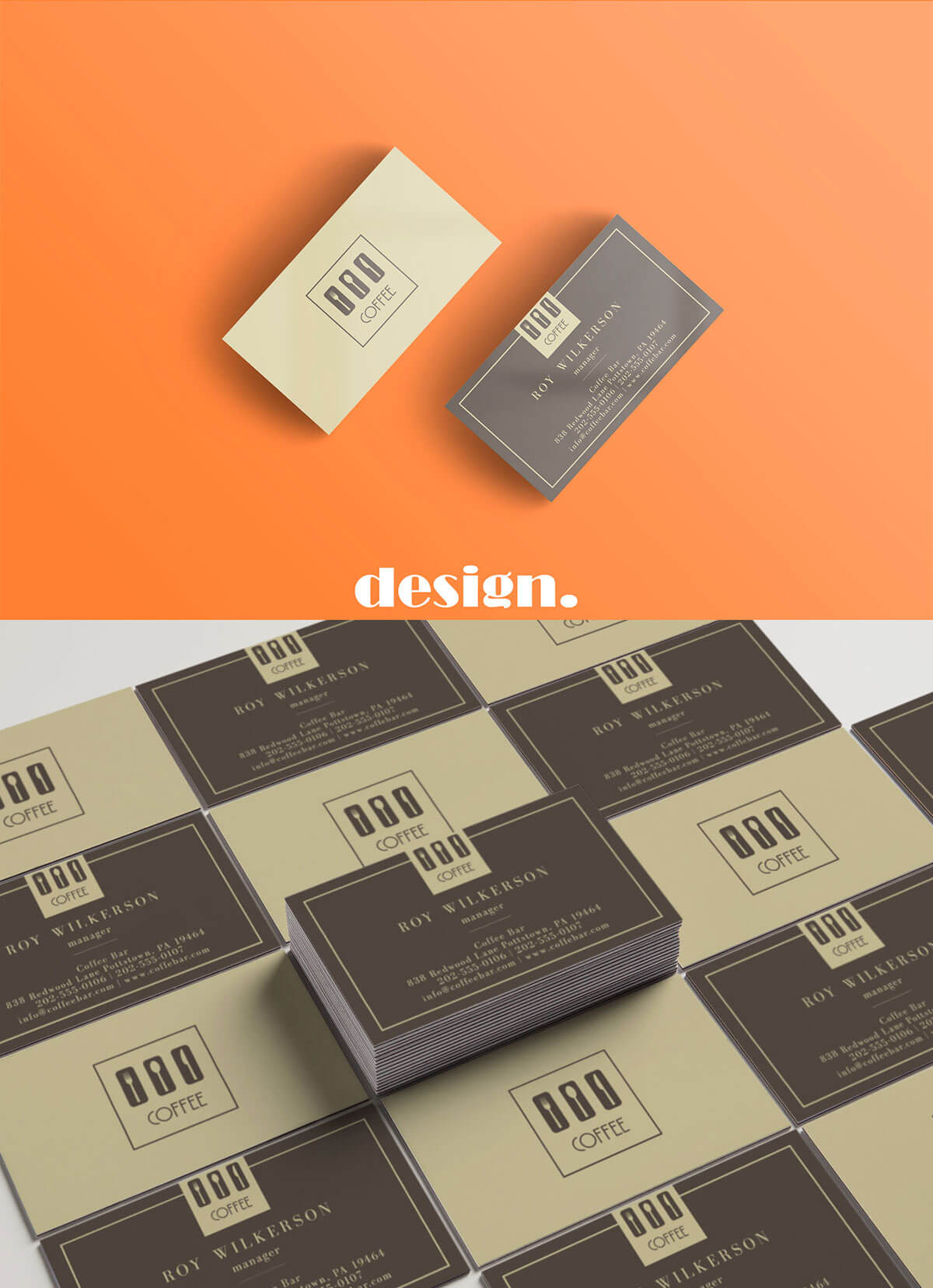 Free coffee business card template creativetacos free coffee business card template wajeb Choice Image