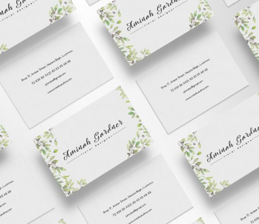 Business cards archives creativetacos free floral designer business card template reheart Image collections