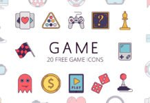 Free Game Vector Icon Set