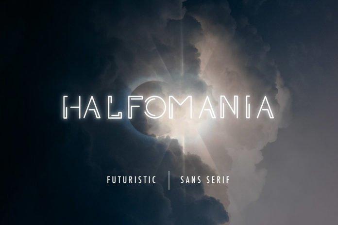 Free Halfomania Sans Serif Font