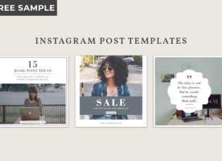 Free Instagram Post Templates