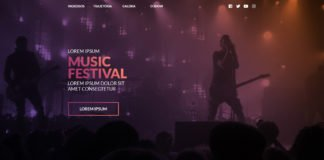 Free Music Festival Website Template