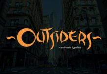 Free Outsiders Fancy Font