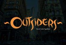 Free Outsiders Fancy Font