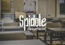 Free Spidole Handwritten Font