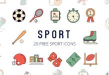 Free Sport Vector Icon Set