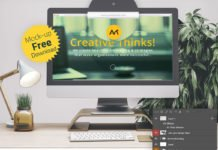 Free Web Browser Mockup