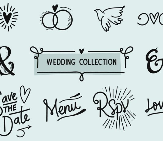 Free Wedding Graphics Collection