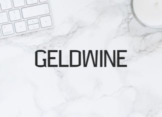 Free Geldwine Sans Serif Font